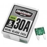 5PC/BX 30A MINI BLADE FUSE