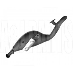 Adly ATV Front Exhaust Pipe