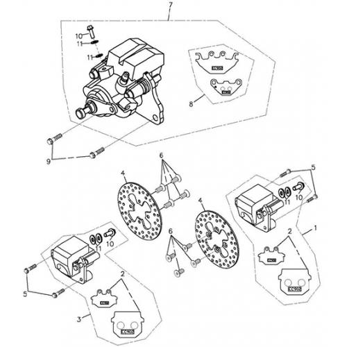 Atv Brakes Diagram
