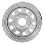 I.T.P. Delta Steel Silver Wheels 12X7 4+3 4/156