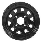 I.T.P. Delta Steel Black Wheels 12X7 4+3 4/156