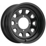 I.T.P. Delta Steel Black Wheels 14X7 4+3 4/156