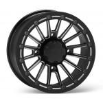 14X7 4+3 4/156 ITP SD-Series Single Beadlock Milled Black Wheels