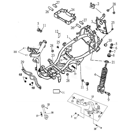 adly thunderbike wiring diagram wiring diagrams instructions 700R4 Transmission frame body thunder bike 150 wiring a non puter 700r4