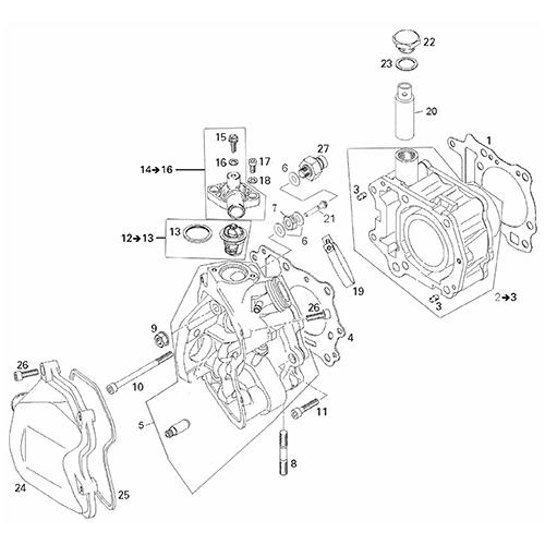Cylinder (Adly ATV 200S)