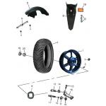 Rear Wheel (Aluminum Rim)