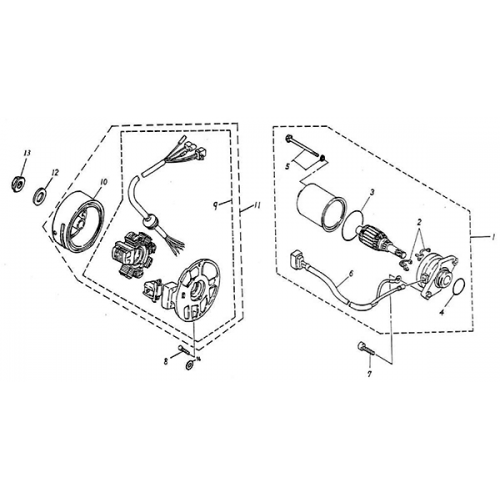 Taotao 50 Scooter Wiring Diagram furthermore 49cc Mini Chopper Wiring Diagram likewise Crossfire 150r Wiring Harness likewise Coolster Atv 125cc Engine Diagram further Chinese Electric Scooter Wiring Diagram. on 49cc scooter wiring diagram