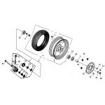 Front Wheel | SPCC Rim