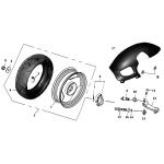 Rear Wheel | SPCC Rim