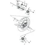 Front Wheel (Aluminium Rim)