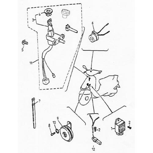 Electrical Equipment (Lambretta UNO150)