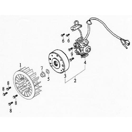 Generator (Lambretta UNO150)