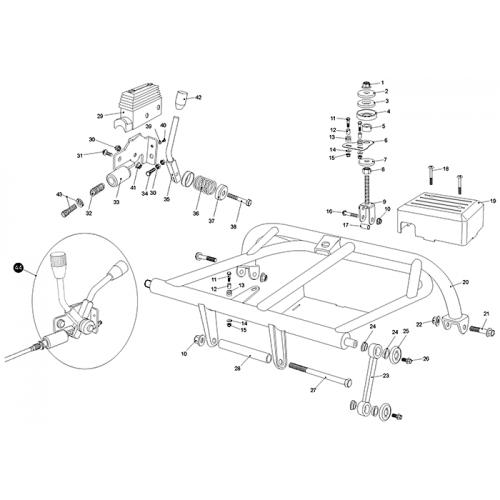 Rear Swing Arm (Upper) (Kasea LM150IIR 2003) on kawasaki wiring diagram, husaberg wiring diagram, yamaha wiring diagram, norton wiring diagram, garelli wiring diagram, kymco wiring diagram, vespa wiring diagram, dinli wiring diagram, kazuma wiring diagram, phantom wiring diagram, tomos wiring diagram, royal ryder wiring diagram, motor trike wiring diagram, smc wiring diagram, motofino wiring diagram, lifan wiring diagram, alpha sports wiring diagram, ural wiring diagram, suzuki wiring diagram, ossa wiring diagram,