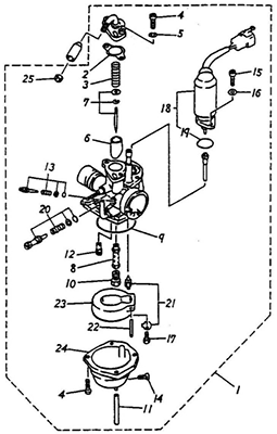 diagram of atv seat atv illustrations wiring diagram