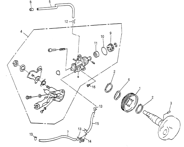 Oil Pump Blazer 90cc Atv