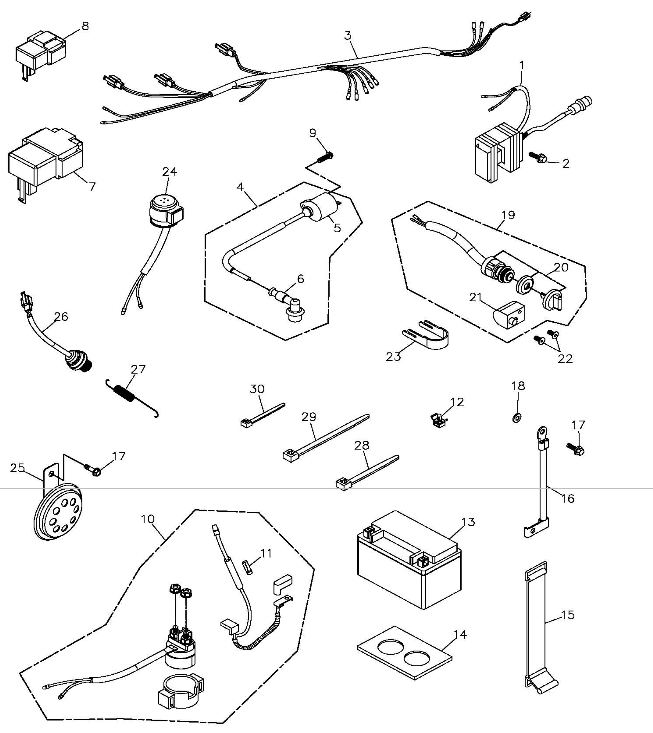 Scooter Racing Parts Wiring Diagram And Engine Diagram - Adly scooter wiring diagram