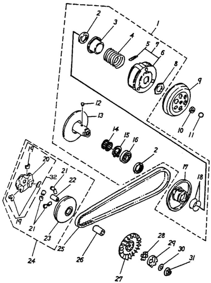 Transmission Rebuild Master Kits Wiring Diagram And Engine Diagram - Adly scooter wiring diagram