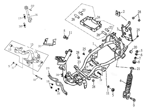 Ss Carb Parts Diagram Body